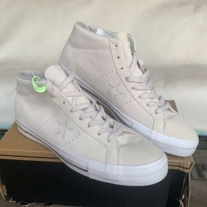 CONVERSE ONE STAR PRO MID PALE PUTTY men's